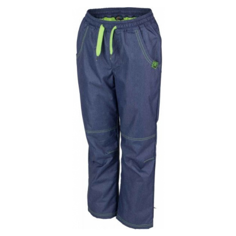 Lewro NING green - Insulated kids' trousers