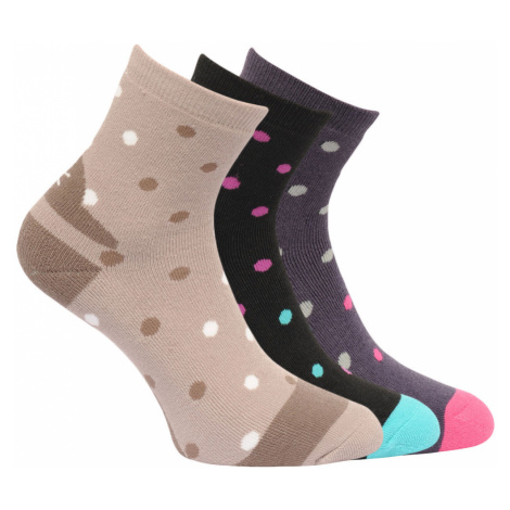 Regatta Womens Active Lifestyle Socks (3 Pack)