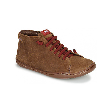 Camper Peu Cami boys's Children's Mid Boots in Brown