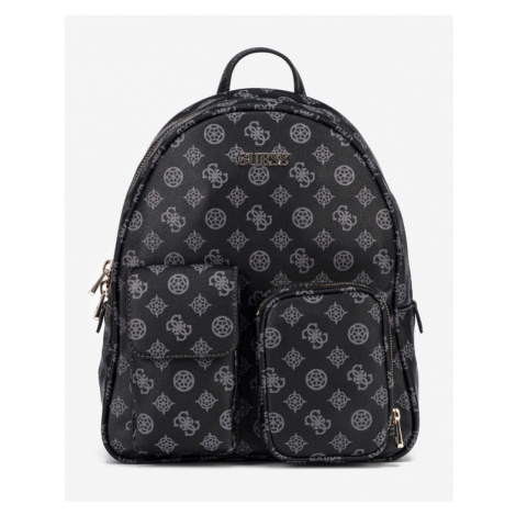 Guess Utility Vibe Large Backpack Black Grey