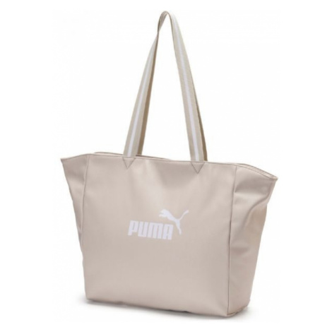 Puma CORE UP LARGE SHOPPER WMN beige - Women's stylish handbag