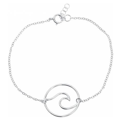 Wave - - Bracelet - silver-coloured