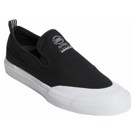 shoes adidas Originals Matchcourt Slip-On - Core Black/Core Black/White - men´s