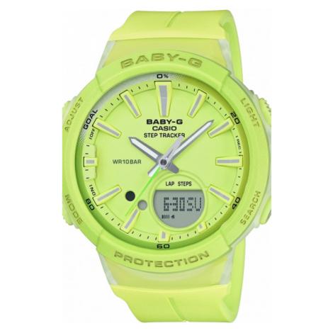 Ladies Casio Baby-G Step Counter Alarm Chronograph Watch BGS-100-9AER