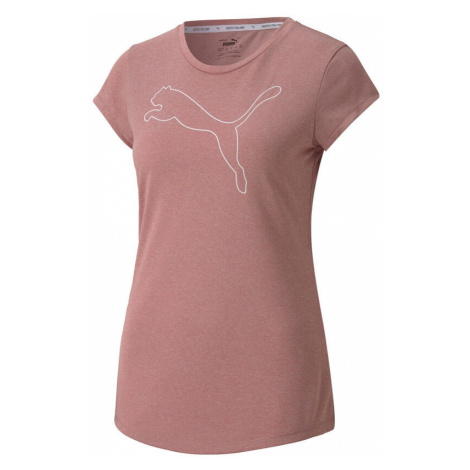 Active Logo Heather T-Shirt Women Puma