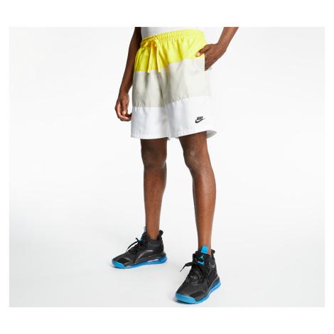 Nike Sportswear SCE Woven Nvlty Shorts Opti Yellow/ Light Bone/ White/ Black
