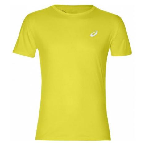 Asics SILVER SS TOP yellow - Men's running T-shirt