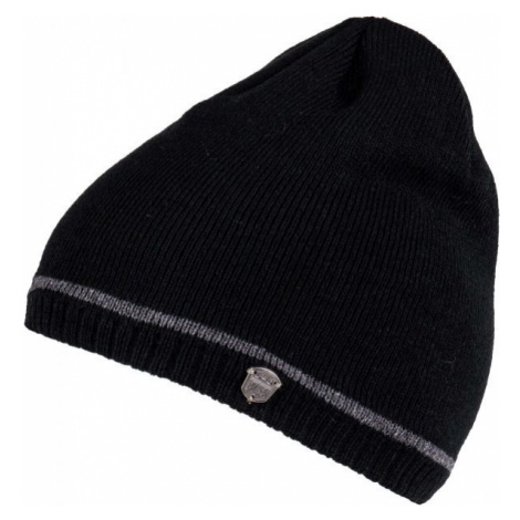 Lewro ROBY black - Boys' knitted hat