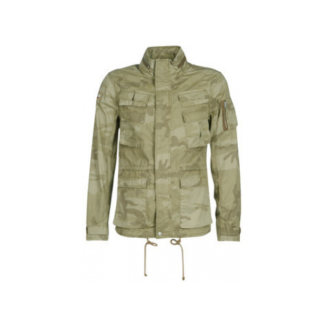 Schott CRAIG 19 men's Jacket in Green Schott NYC