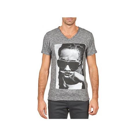 Eleven Paris LILY M MEN men's T shirt in Grey