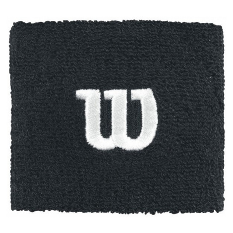 Wilson W WRISTBAND black - Tennis wristband