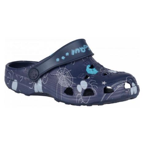 Coqui LITTLE FROG dark blue - Kids' sandals