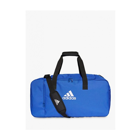 Adidas Tiro Duffel Bag, Medium, Bold Blue/White