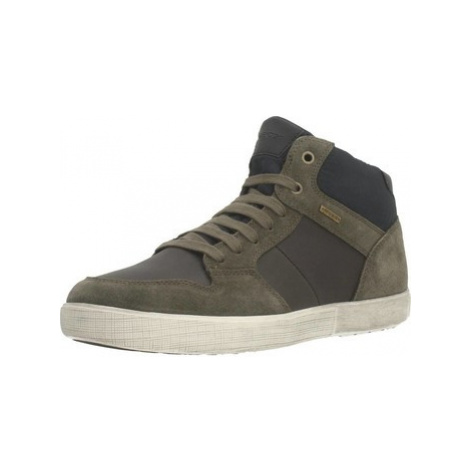 Geox U TAIKI B ABX men's Shoes (High-top Trainers) in Brown
