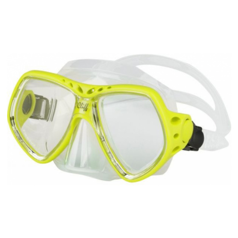 Finnsub CLIFF MASK yellow - Diving mask