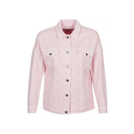 Noisy May NMKEL women's Denim jacket in Pink