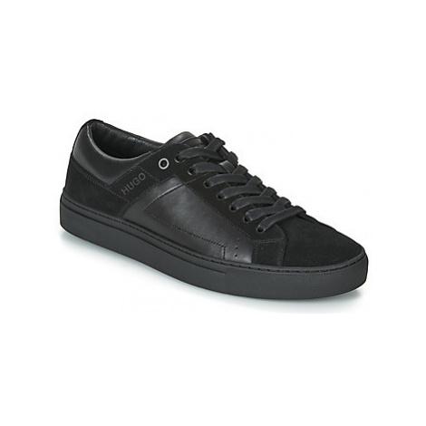 HUGO UTURISM TENN NASD men's Shoes (Trainers) in Black Hugo Boss