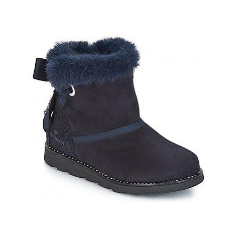 Tom Tailor JAVILOME girls's Children's Mid Boots in Blue