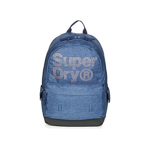 Superdry LINEMAN RHINESTONE MONTANA women's Backpack in Blue