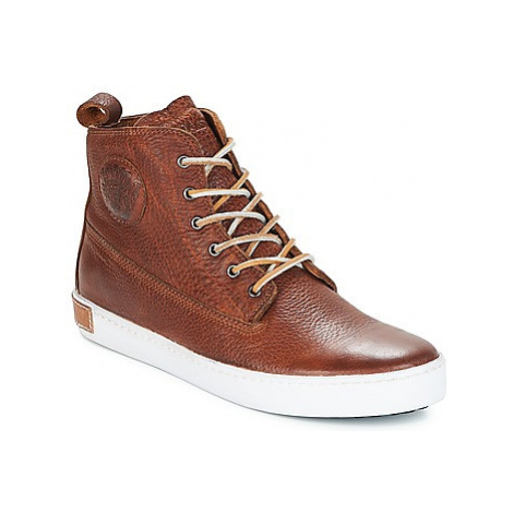 Blackstone INCH WORKER men's Shoes (Trainers) in Brown