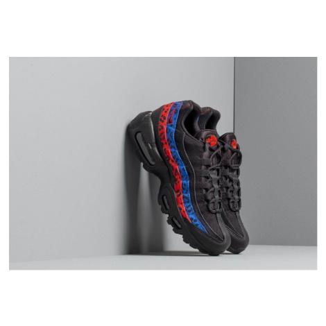 Nike Wmns Air Max 95 Premium Black/ Black-Habanero Red-Racer Blue