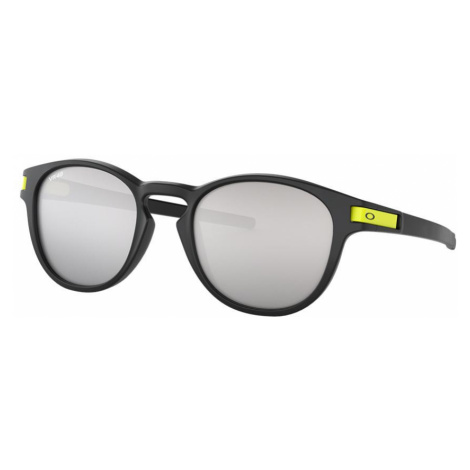 Oakley Man OO9265 Latch™ Valentino Rossi Signature Series - Frame color: Black, Lens color: Silv
