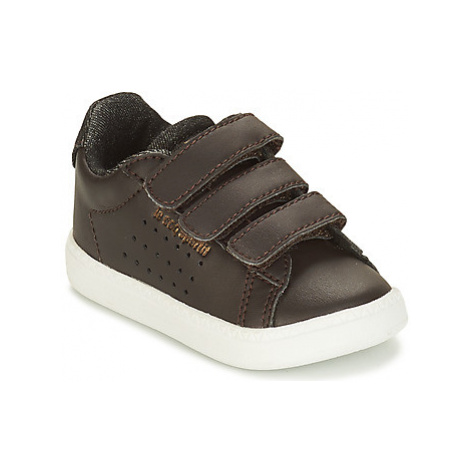 Le Coq Sportif COURTSET INF CRAFT boys's Children's Shoes (Trainers) in Black