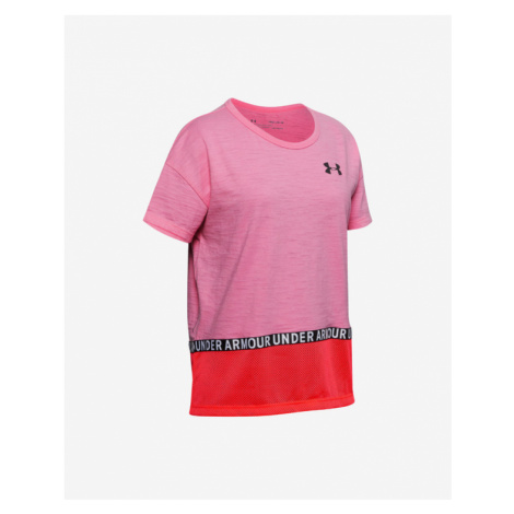 Under Armour Charged Cotton® Kids T-shirt Pink