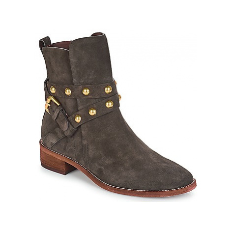 See by Chloé JANIS women's Mid Boots in Grey