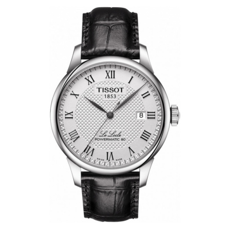 Mens Tissot Le Locle Powermatic 80 Automatic Watch T0064071603300