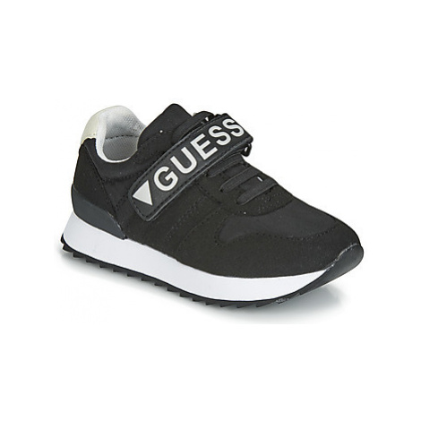 Guess RUDY boys's Children's Shoes (Trainers) in Black
