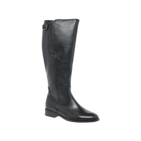 Gabor Lovell XL Womens Long Boots women's High Boots in Black
