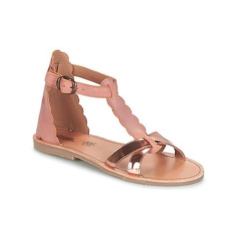 Citrouille et Compagnie GUBUDU girls's Children's Sandals in Pink
