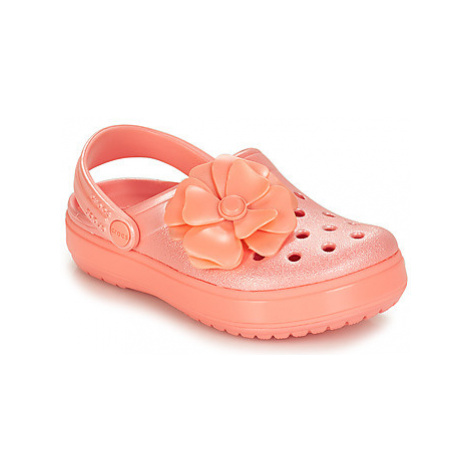 Crocs CROCBAND VIVID BLOOMS CLOG K girls's Children's Clogs (Shoes) in Pink