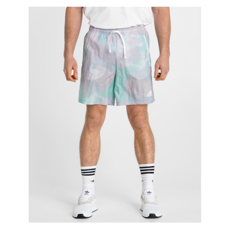 adidas Performance Essentials Tie-Dyed Inspirational Short pants Green Violet