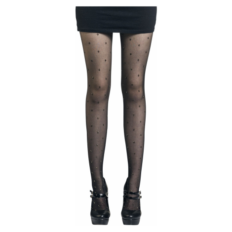 Disée - Shiny Dots - Tights - black-gold
