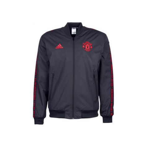 Adidas MUFC JACKET men's Tracksuit jacket in Black