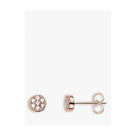 THOMAS SABO Sparkling Circles Stud Earrings