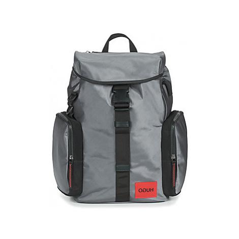 Grey men's sports backpacks