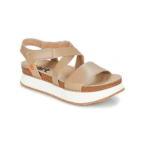 Art MYKONOS women's Sandals in Beige