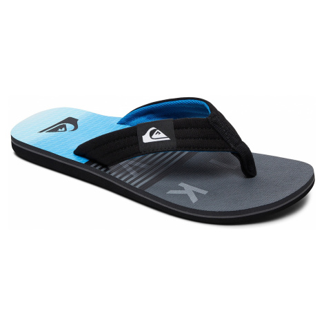 flip flops Quiksilver Molokai Layback - XKSB/Black/Gray/Blue - men´s