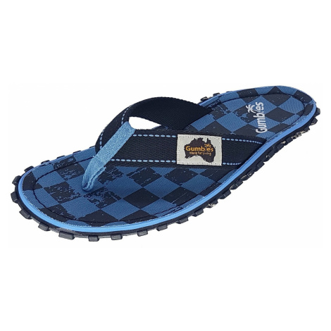 flip flops Gumbies Islander - Blue Checker