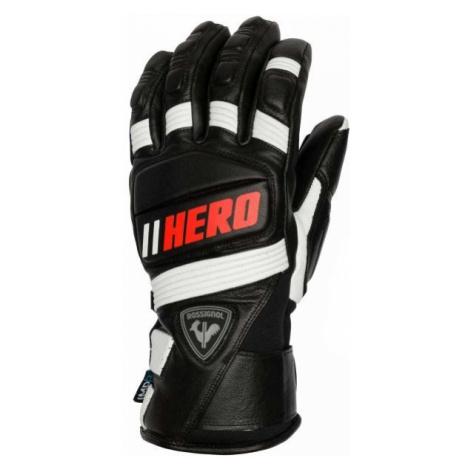 Rossignol WORLD CUP EXPERT LTH IMPR G black - Men's ski gloves