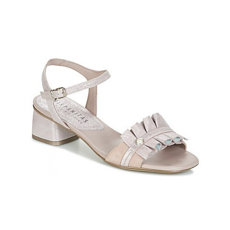 Hispanitas SAMOA-4 women's Sandals in Silver