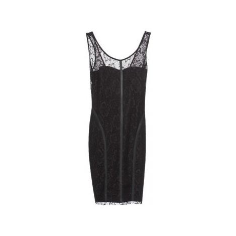 Morgan RLACE women's Dress in Black
