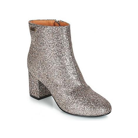 Les Tropéziennes par M Belarbi CLORA women's Low Ankle Boots in Grey