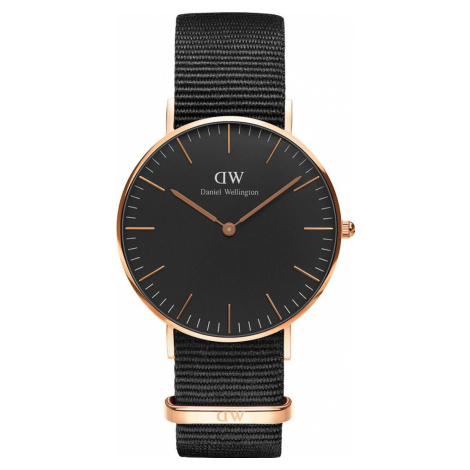 Daniel Wellington Watch Classic Black Cornwall 36mm