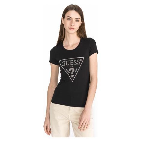 Guess Sparkle T-shirt Black