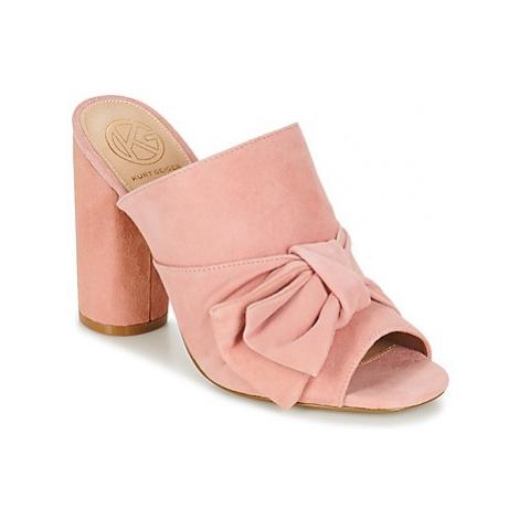 KG by Kurt Geiger JESSIKA women's Mules / Casual Shoes in Pink KG Kurt Geiger