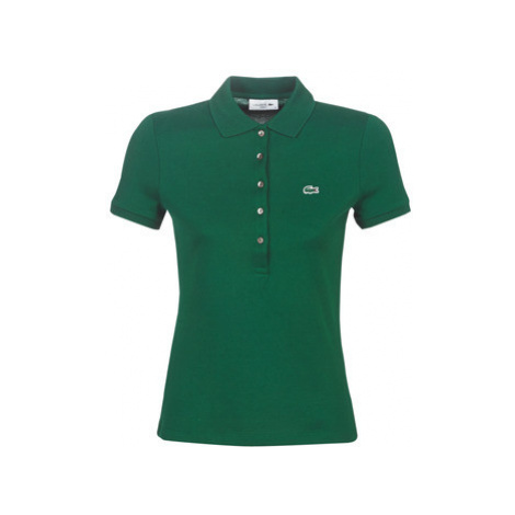 Lacoste PF7845 SLIM women's Polo shirt in Green